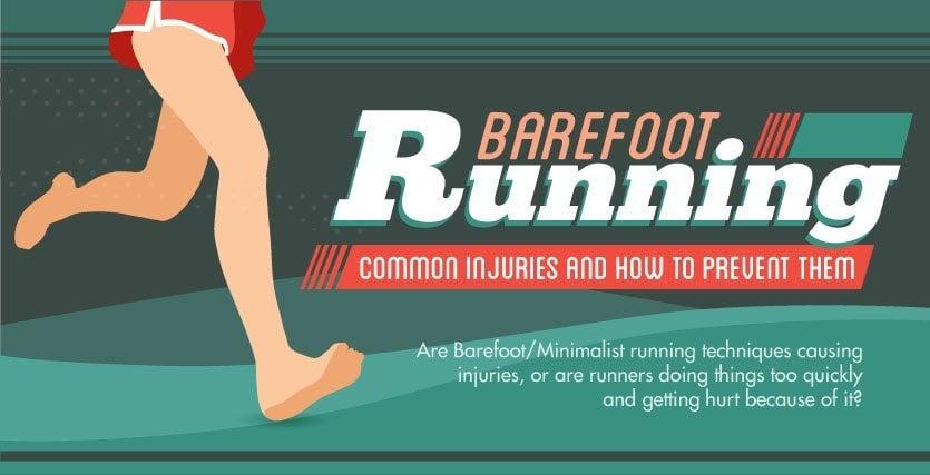 Barefoot Running Infographic