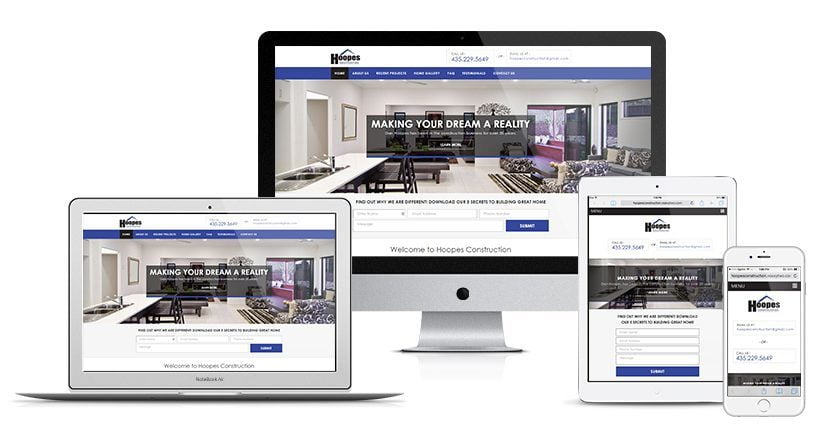 Hoopes Construction Website