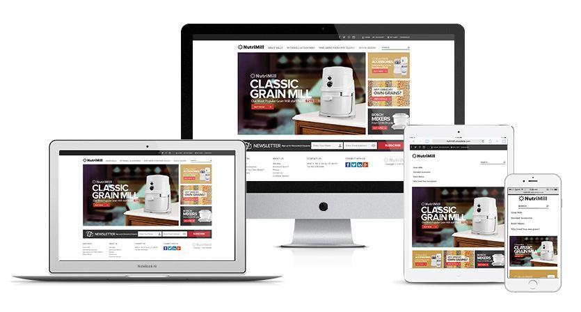 Nutrimill Website
