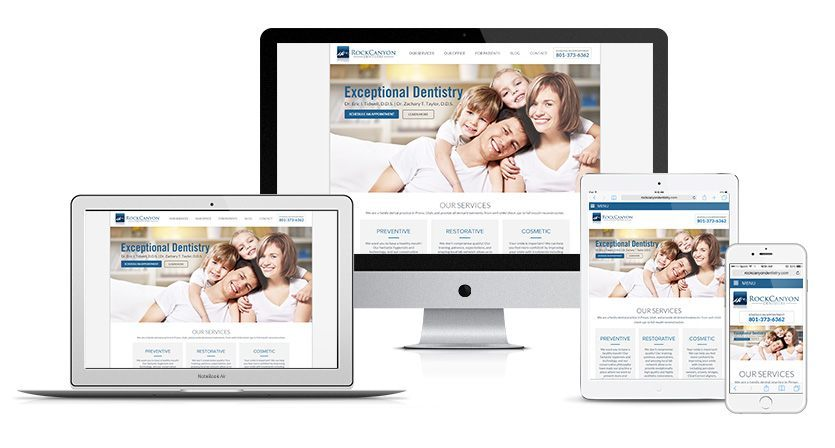 Rock Canyon Dentistry Website