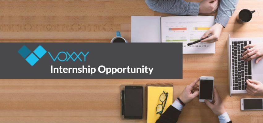 voxxy digital marketing internship opportunity